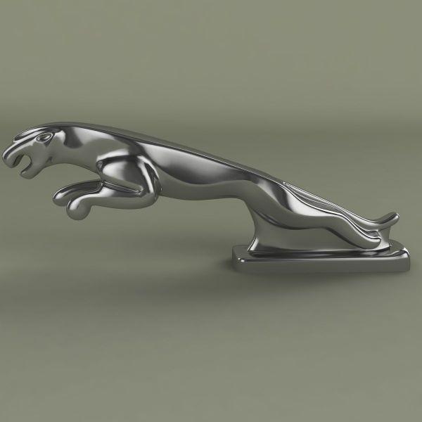 Jaguar Mascot 3d Model .max .obj .3ds