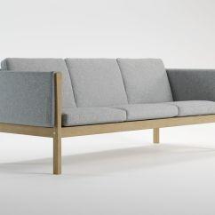 Hans Wegner Sofa Ch163 Home Theatre Uk 3d Model Cgtrader Max Obj Mtl Fbx C4d Skp Unitypackage Prefab 2
