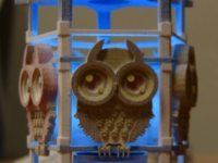 Owl night light free 3D Model 3D printable STL | CGTrader.com