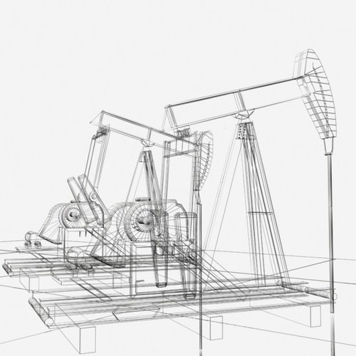 Oil Pump: Oil Pump Jack Model
