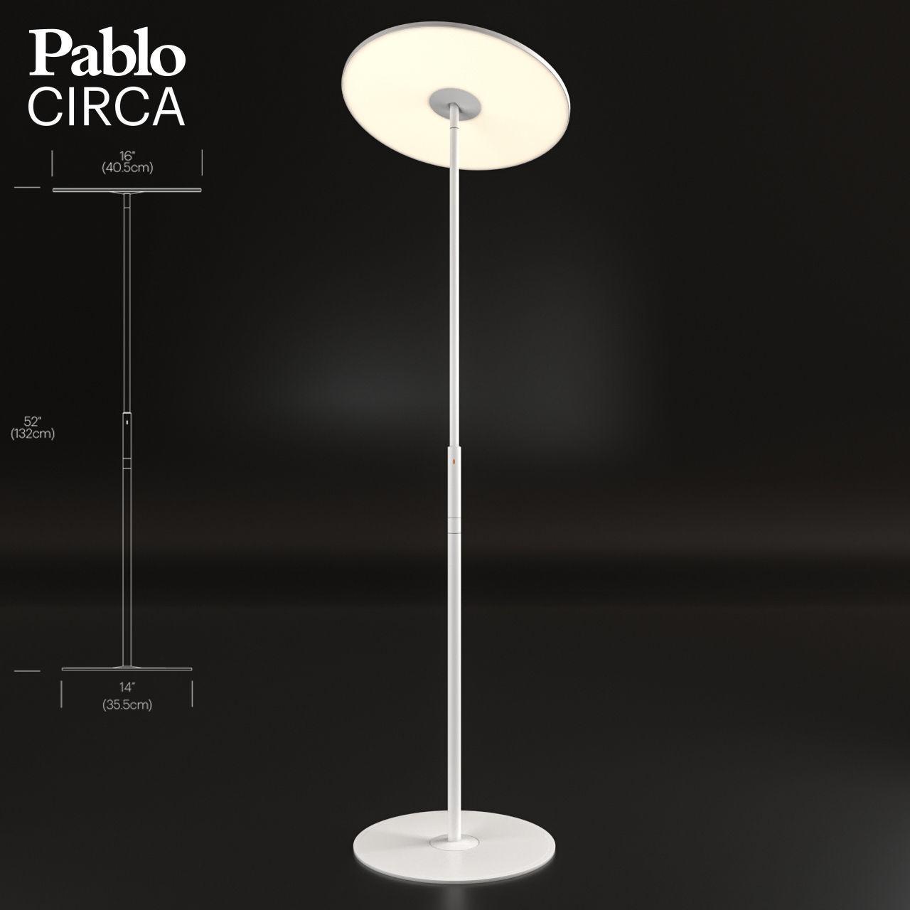 circa floor lamp by pablo designs 3d model