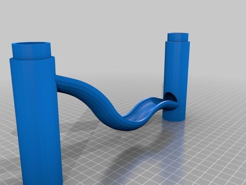 Marble Run Big Dip free 3D Model 3D printable stl skp
