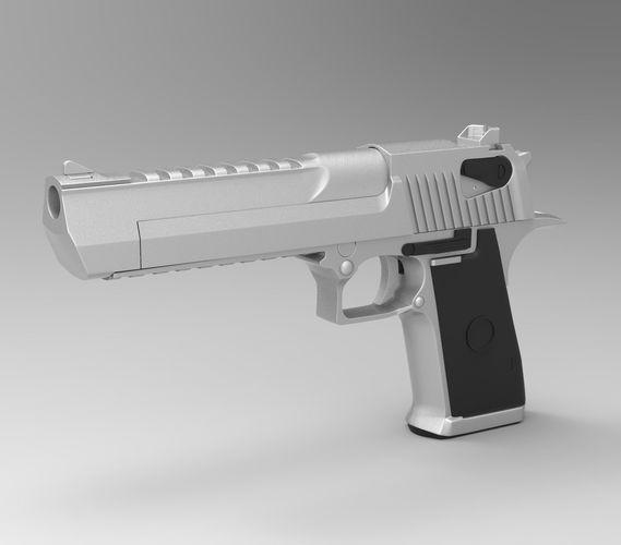Deagle 3D CGTrader
