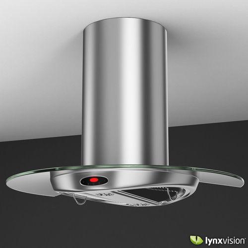 kitchen hood vent faucet round island range 3d model .max .obj .fbx .c4d .lwo ...