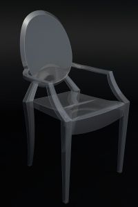 Ghost Chair by Philippe Starck 3D Model DWG - CGTrader.com