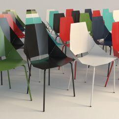Real Good Chair Rolling Vanity Blu Dot 3d Model Max Obj 3ds Fbx Mtl