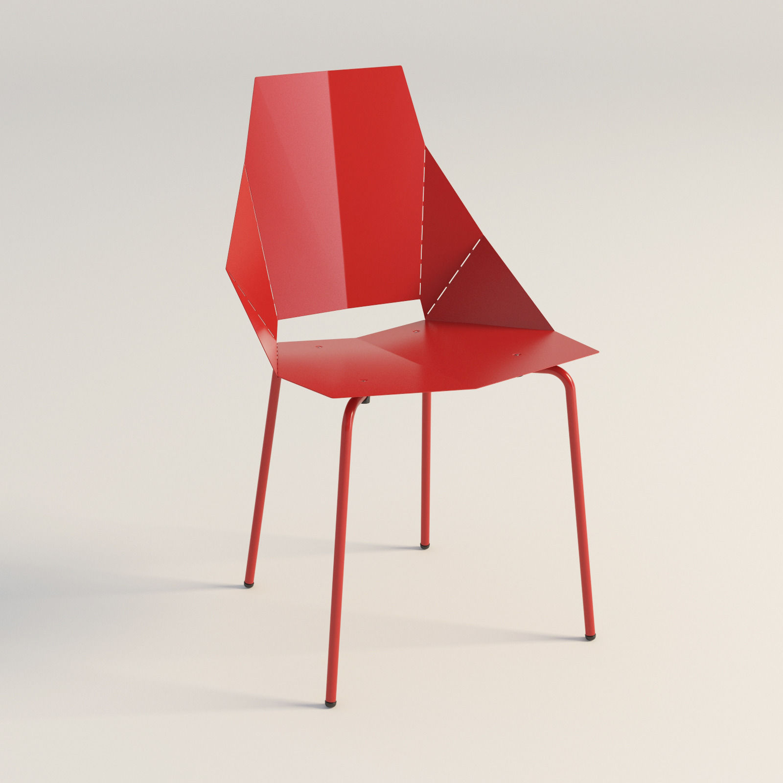 real good chair mid century barrel dining blu dot 3d model max obj 3ds fbx mtl