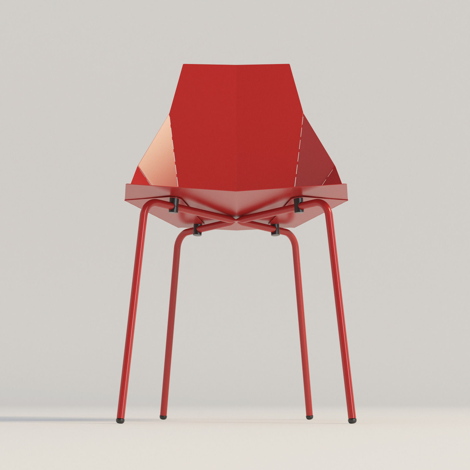 real good chair light blue banquet covers blu dot 3d model max obj 3ds fbx mtl
