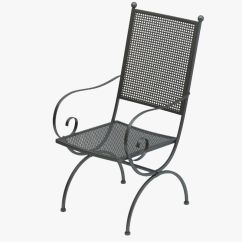 Wrought Iron Chair Butterfly Covers Ebay 3d And Table Set Cgtrader Model Max Obj Mtl Fbx 4