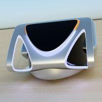 HoverBug futuristic vehicle 3D Model .obj .3dm .ige .igs ...