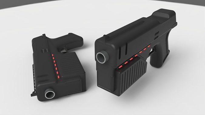 Lawgiver Judge Dredd S Gun 3D Model STL