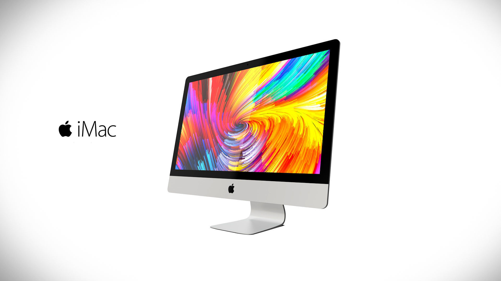 Imac 27 2017 3D model for 3Ds Max and Cinema 4D