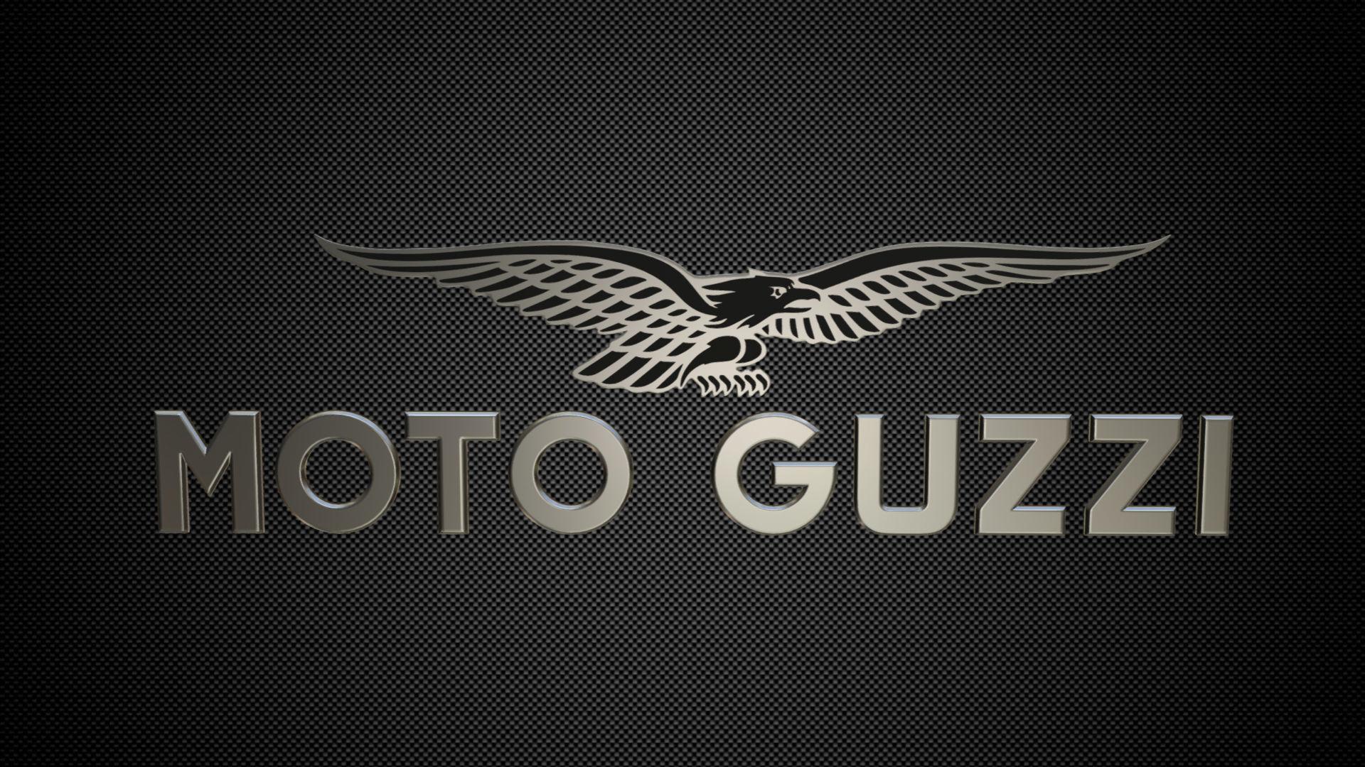 moto guzzi logo 3d