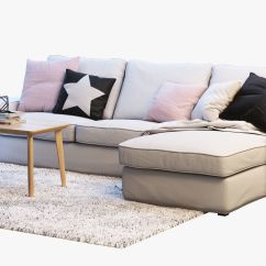 Sofa Ikea Kivik Opiniones Chocolate De Que Color Las Paredes Chaise Longue Small House Interior Design 3 Two Seat With 3d Model Rh Cgtrader Com