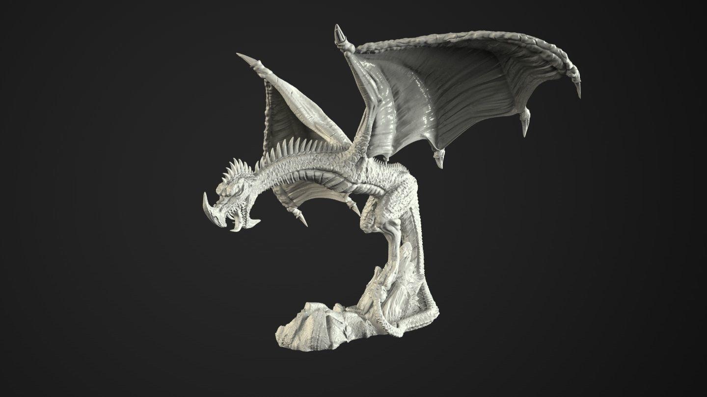 wyvern 3d print model