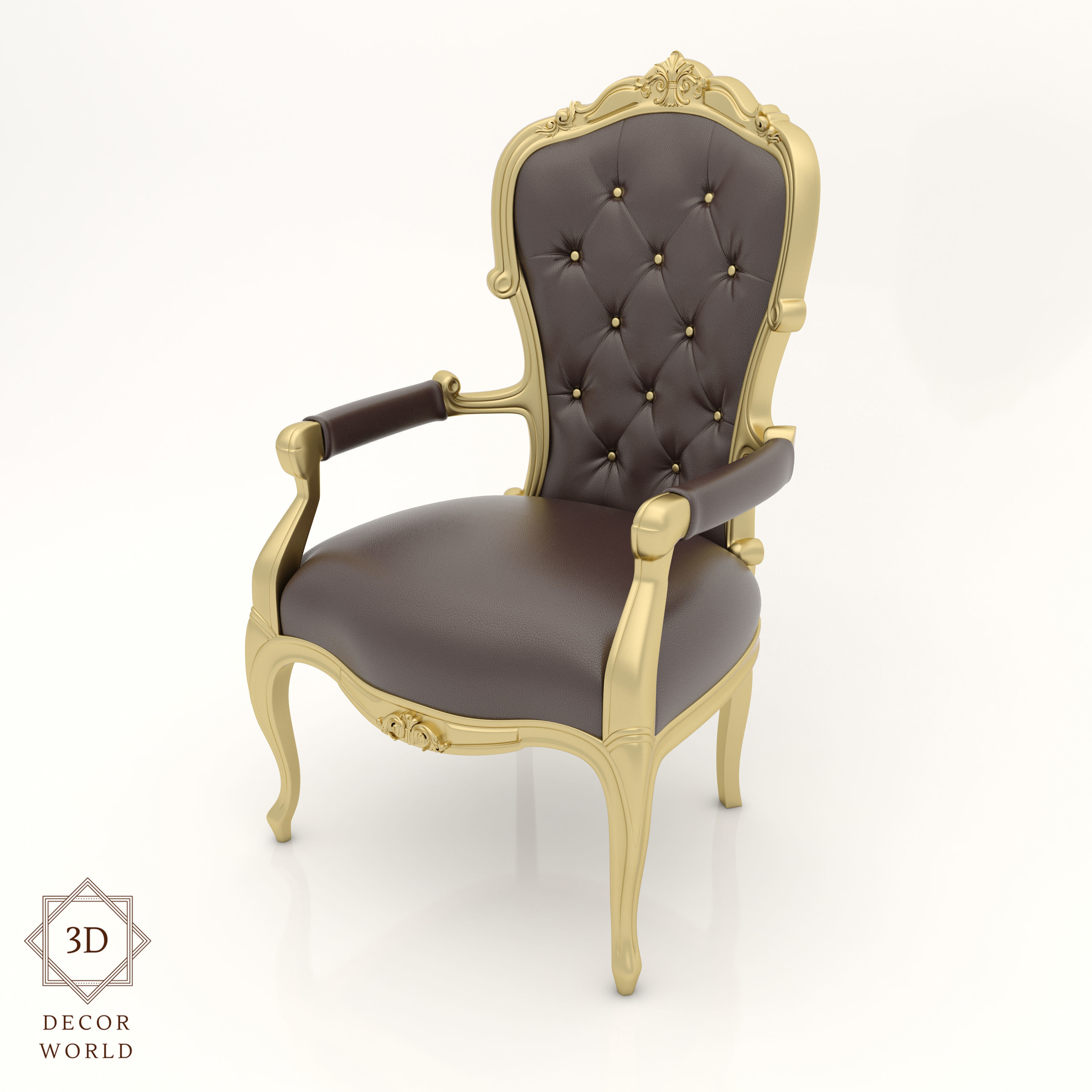 Classic Chair Classic Chair 10 For Interior And Cnc 3d Model