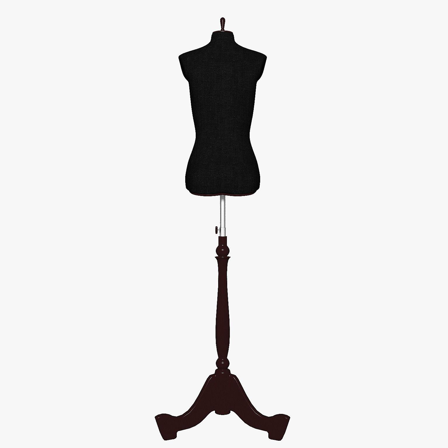 mannequin chair stand buy ski lift the female 3d model max obj 3ds fbx