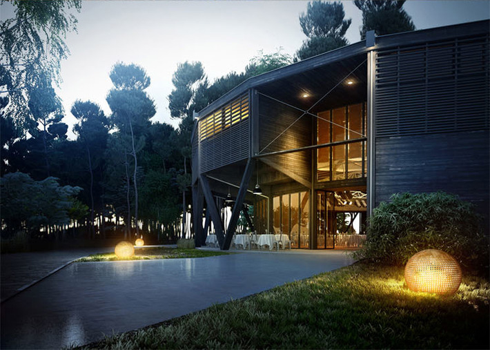 Architectural 3D Renderings That Look Too Real To Be True