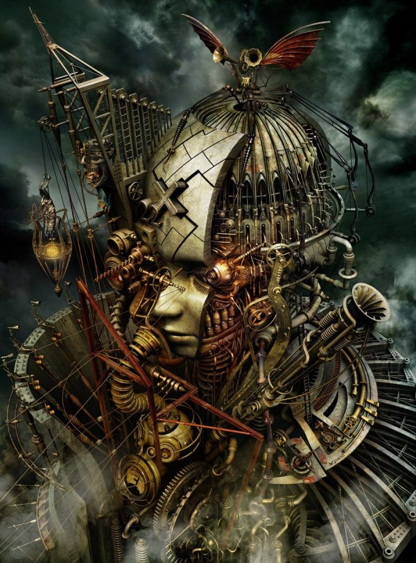 Steampunk Digital Art