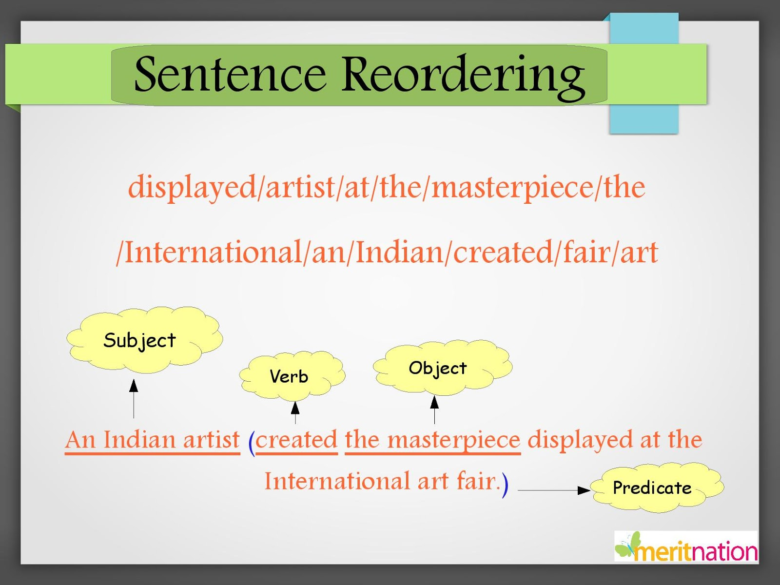 Jumbled Sentences Studymaterial Cbse Class 6 English Vocabulary Skills