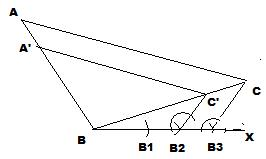 Draw a triangle ABC and BC = 12 AB= 5 and angle B = 90