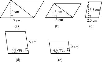Perimeter And Area, NCERT Solutions: CBSE Class 7 MATH