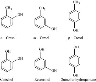 Alcohols Phenols And Ethers, Revision Notes: CBSE Class 12