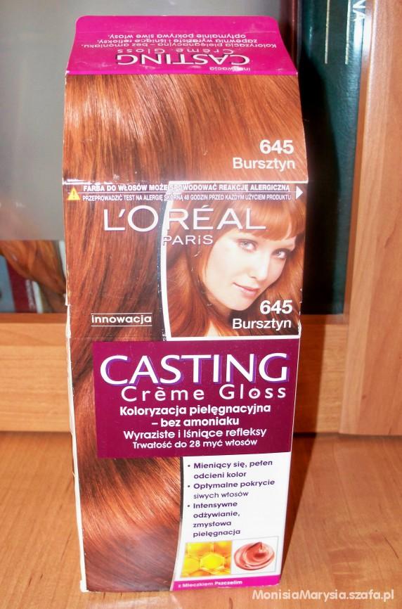 L Oreal Casting Creme Gloss Bursztyn 645 Rudy W Wosy