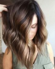 lob bronz ombre na osy & fryzury