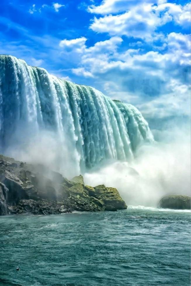 Niagara Falls Wallpaper Wodospad Niagara Na Magiczne Miejsca Zszywka Pl