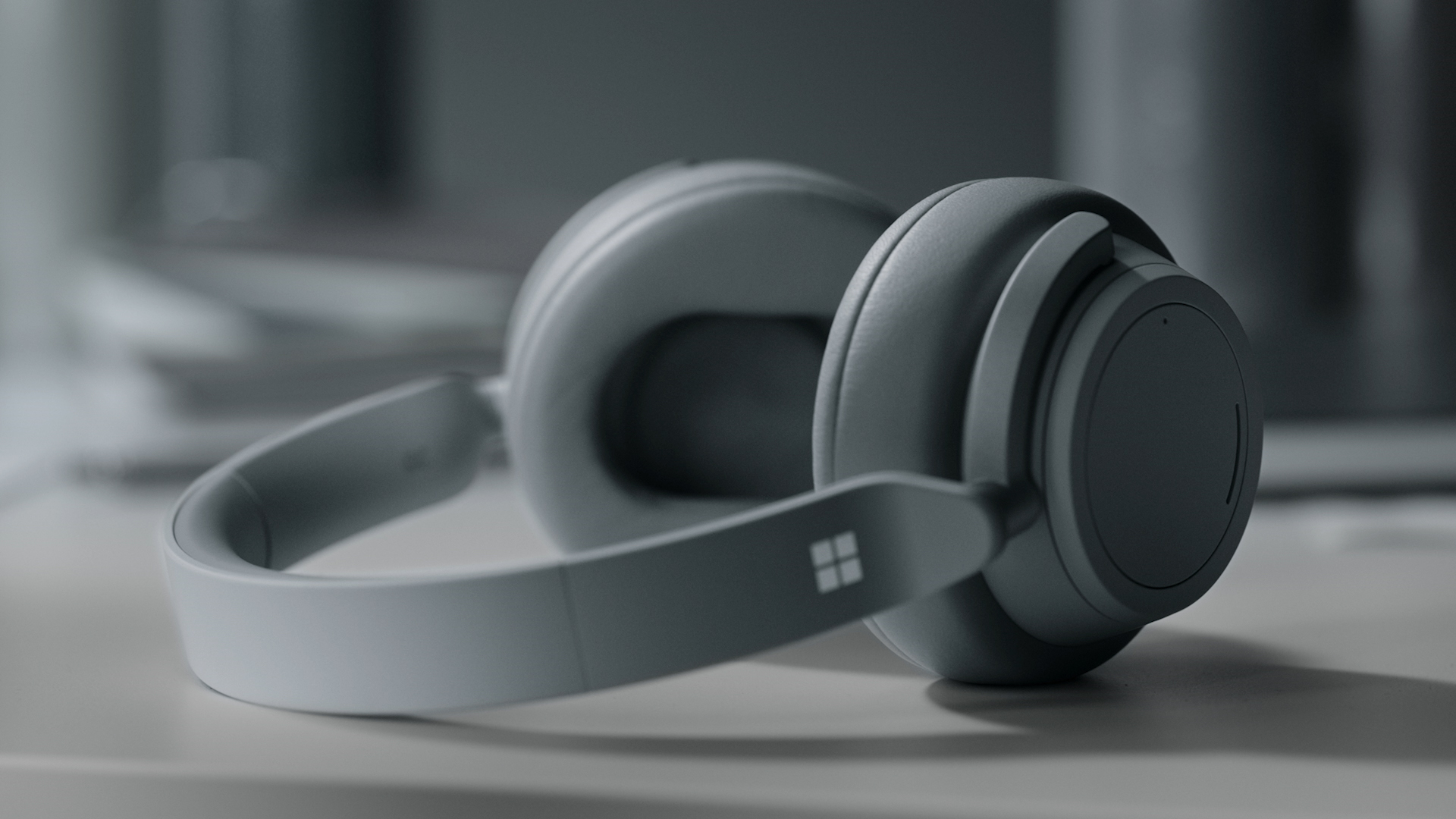 meet the new surface headphones the smarter way to listen microsoft surface [ 1920 x 1080 Pixel ]