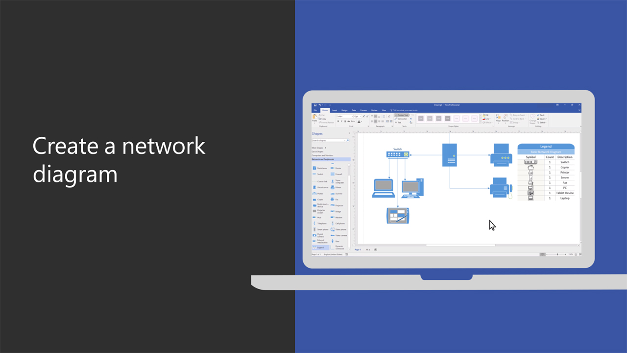 network diagram for small company wiring symbol video create a visio