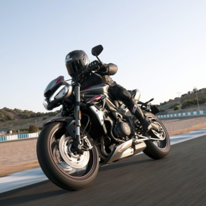 Triumph re-creates the look to the Street Triple RS MY20