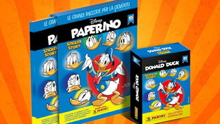 Donald Duck the comic becomes a figurine