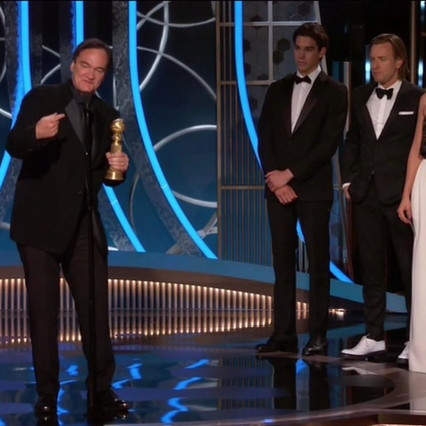 Golden Globe 2020: Tarantino's Hollywood triumphs