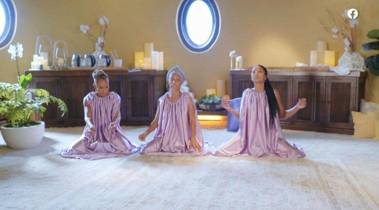 """""""Steam Vaginas"""": per Jada Pinkett Smith un momento molto… intimo con mamma e figlia"""