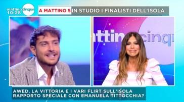 """Dopo la vittoria a """"L'Isola dei Famosi"""", Awed smentisce il flirt con Emanuela Tittocchia: """"Stavamo giocando"""""""