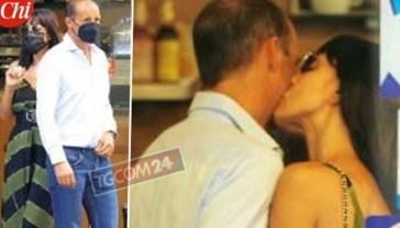 Per Ambra Angiolini e Massimiliano Allegri una colazione al bacio