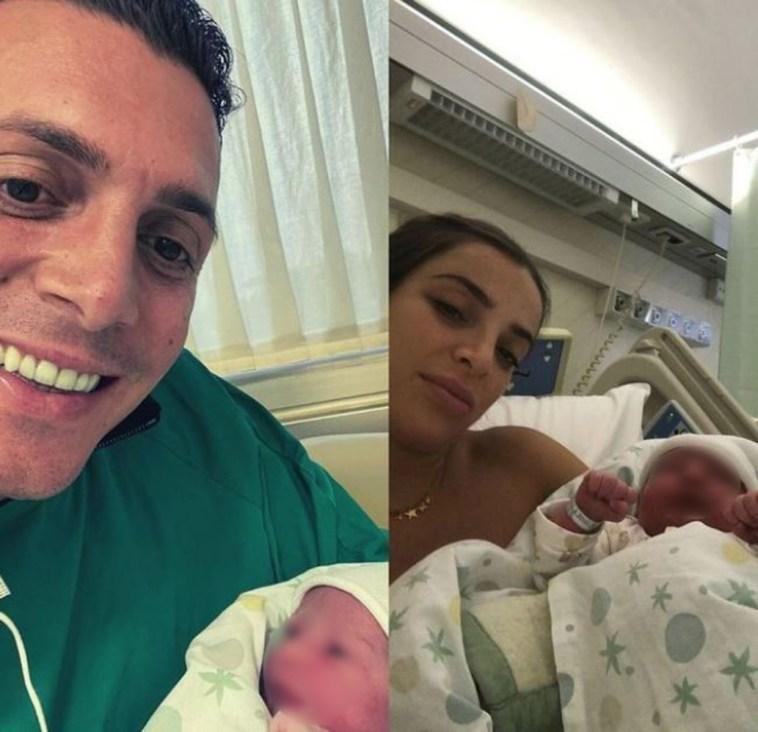 Gigi D'Alessio nonno tris: il suo primogenito Claudio D'Alessio annuncia la nascita della sua terza figlia