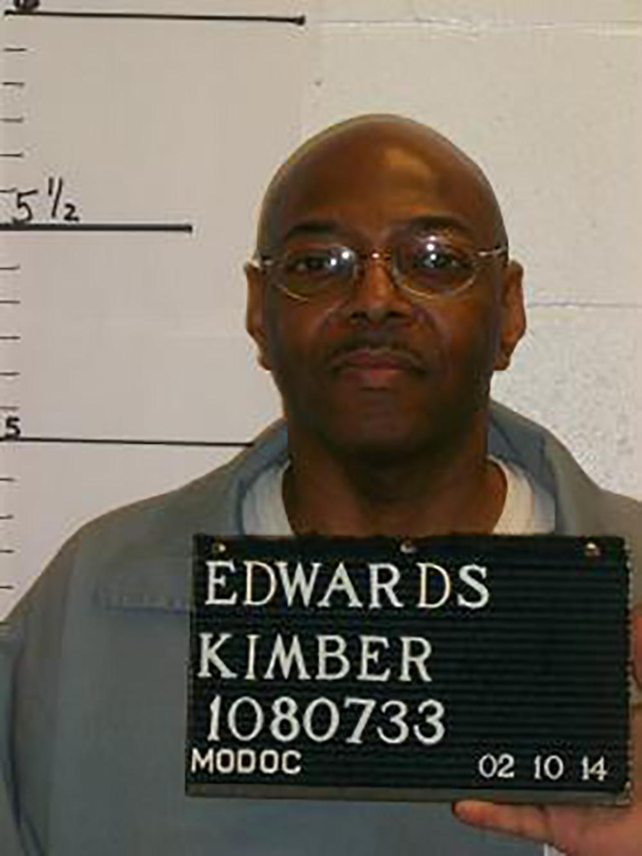 Undated booking photo of Kimber Edwards
