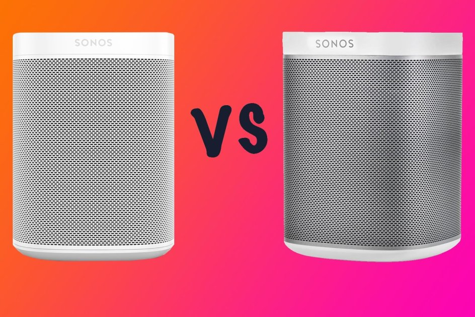 Sonos One vs Sonos One SL vs Sonos Play:1: What's the difference?