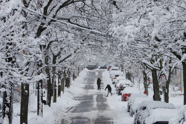 in photos winter weather