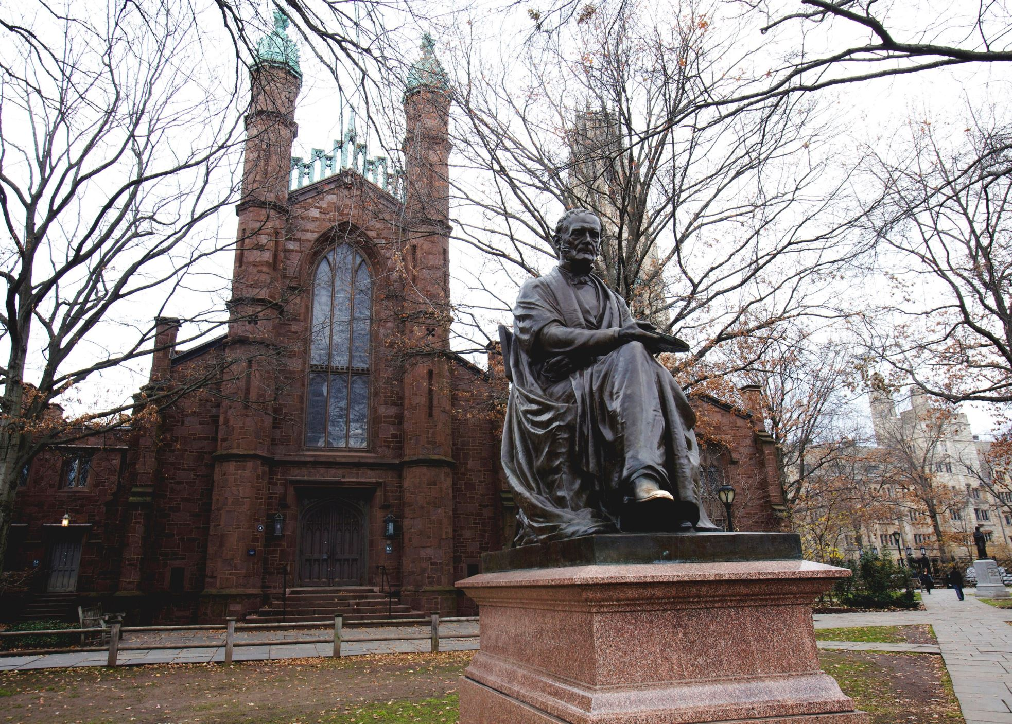 Διαφάνεια 36 από 41: Founded in 1701, Yale is the third oldest institution of higher education in the United States. The university has produced 20 billionaires in total and it is ranked at sixth place in America's Top Colleges by Forbes.