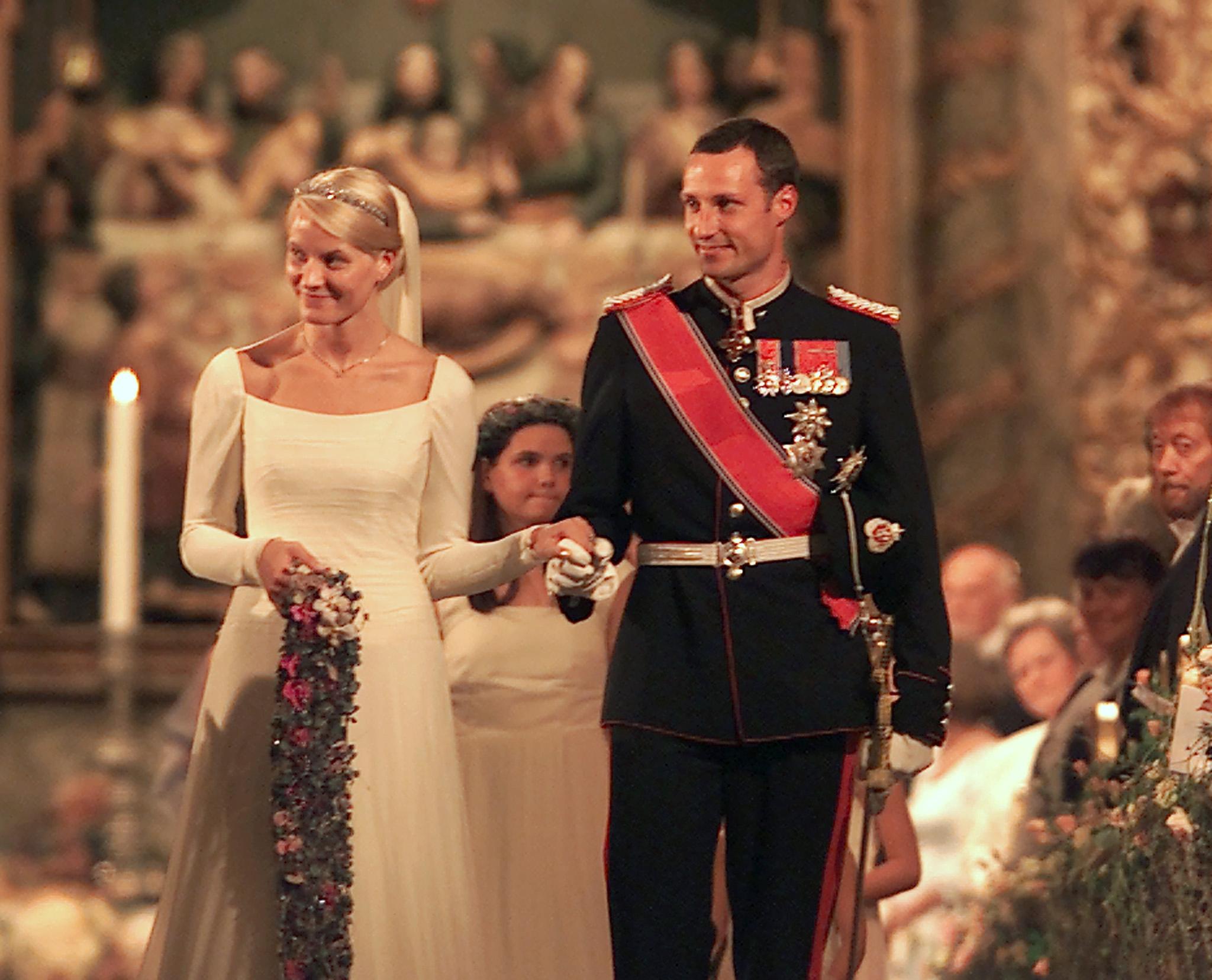 Norway's Crown Prince Haakon and Crown Princess Mette-Marit, 2001