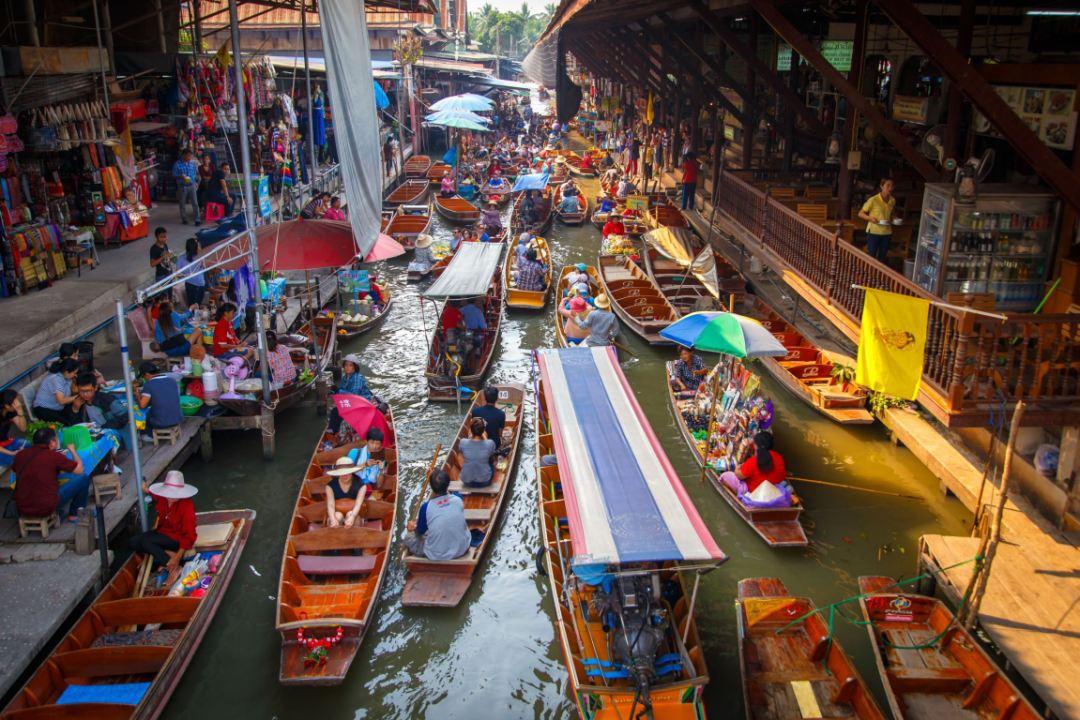 Pasar Terapung Di Seantero Asia