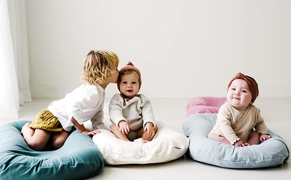 snuggle me organic patented sensory lounger for baby organic cotton virgin polyester fill