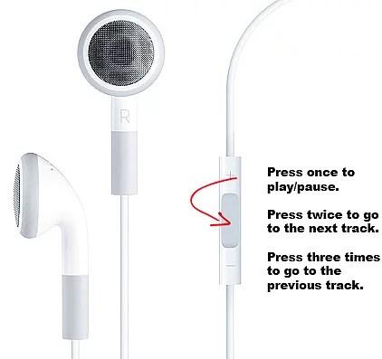 Dinlediğiniz müziği kulaklığınızdan kontrol edebilirsiniz!