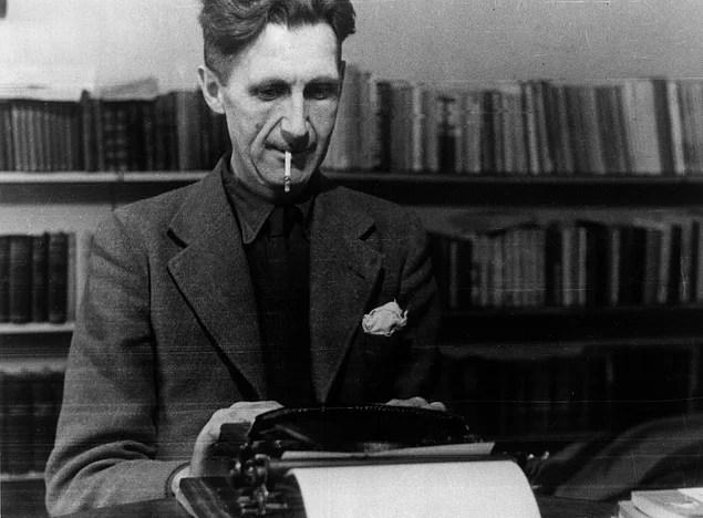Doğumunun 112. Yıl Dönümünde Edebiyatın Dahi Kalemi George Orwell -  onedio.com