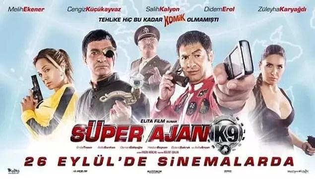 Süper Ajan K9 (IMDb Puanı: 1,5)