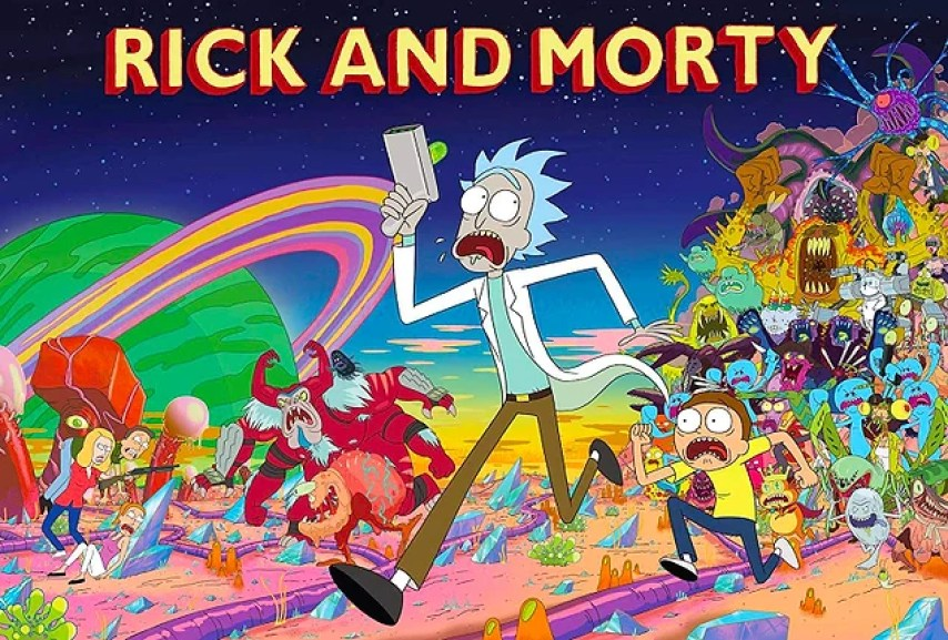 Rick and Morty - IMDb Puanı: 9.3